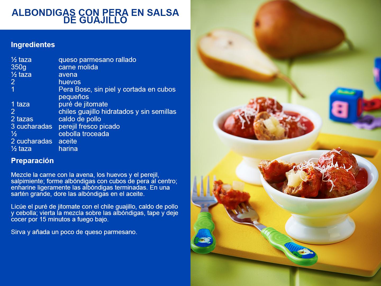 Albondigas en salsa de guajillo